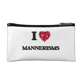 I Love Mannerisms Cosmetic Bag