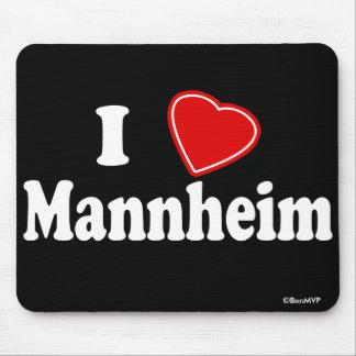 I Love Mannheim Mouse Pad