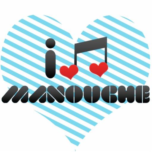 I Love Manouche Photo Cut Outs
