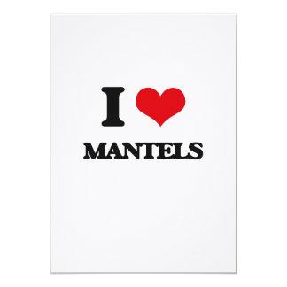 I love Mantels 5x7 Paper Invitation Card