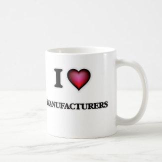 I Love Manufacturers Coffee Mug