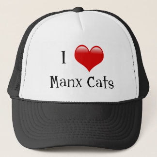 I Love Manx Cats Trucker Hat