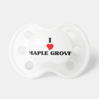 I love Maple Grove BooginHead Pacifier