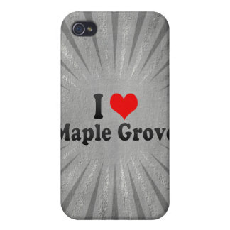 I Love Maple Grove, United States Cases For iPhone 4