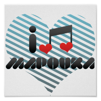 I Love Mapouka Poster