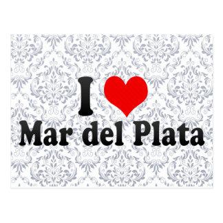 I Love Mar del Plata, Argentina Postcard