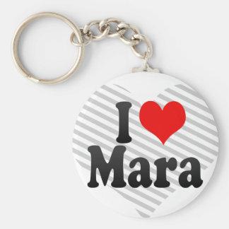 I love Mara Keychain