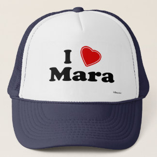 I Love Mara Trucker Hat