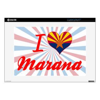 """I Love Marana, Arizona Skins For 15"""" Laptops"""