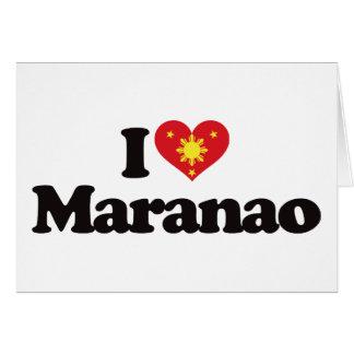 I Love Maranao Greeting Card