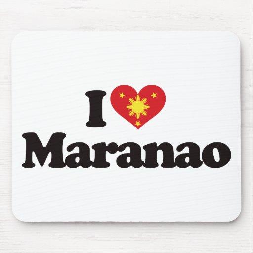 I Love Maranao Mousepads