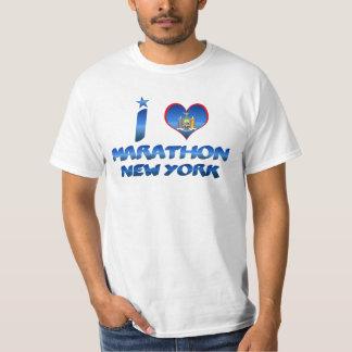 I love Marathon, New York T-Shirt