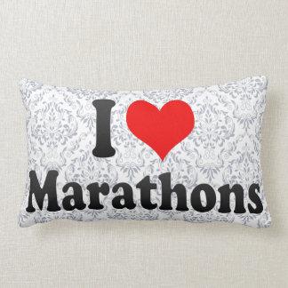 I love Marathons Pillow