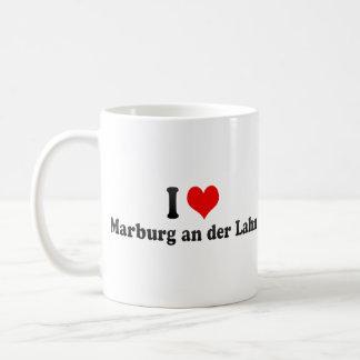 I Love Marburg an der Lahn, Germany Classic White Coffee Mug
