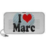 I love Marc Portable Speaker