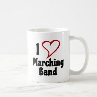 I Love Marching Band Coffee Mug