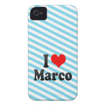 I love Marco Case-Mate iPhone 4 Cases