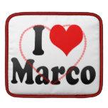 I love Marco iPad Sleeve