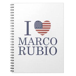 I Love Marco Rubio Notebook