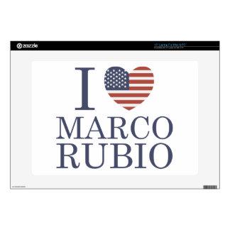 """I Love Marco Rubio Skins For 15"""" Laptops"""