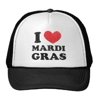 I Love Mardi Gras Trucker Hat