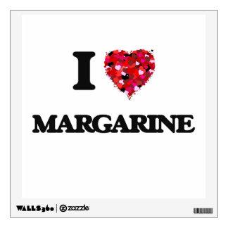 I Love Margarine Wall Stickers