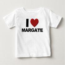 I Love Margate Baby T-Shirt