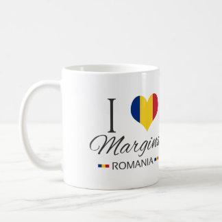I Love Margina Romania Coffee Mug