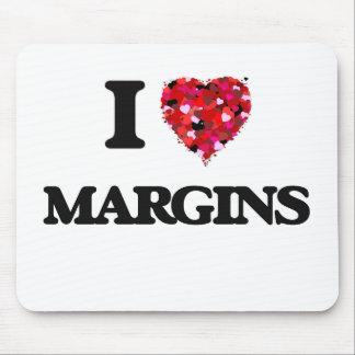 I Love Margins Mouse Pad