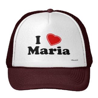 I Love Maria Trucker Hat