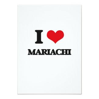 I Love MARIACHI Invitations