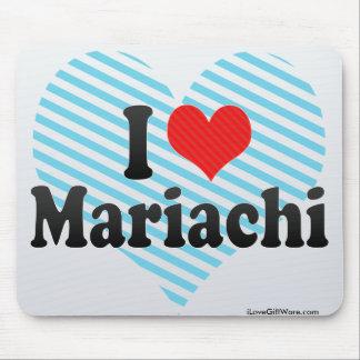 I Love Mariachi Mousepads