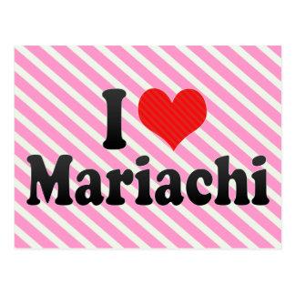 I Love Mariachi Postcard