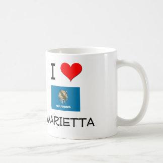 I Love Marietta Oklahoma Classic White Coffee Mug