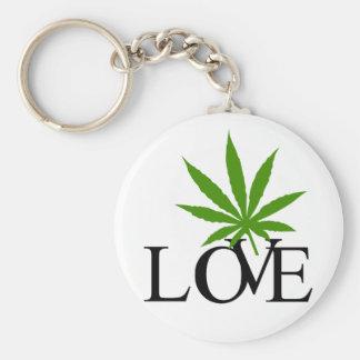 I Love Marijuana Keychain