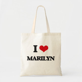 I Love Marilyn Budget Tote Bag