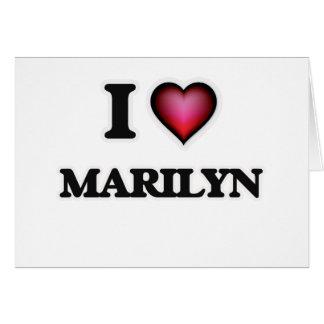 I Love Marilyn Card