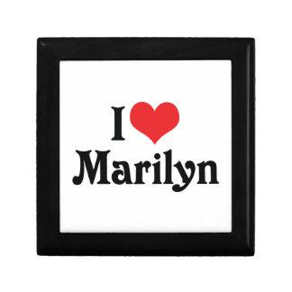 I Love Marilyn Jewelry Box