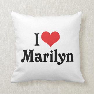 I Love Marilyn Pillow