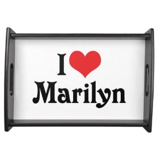 I Love Marilyn Service Tray