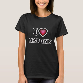 I Love Marilyn T-Shirt
