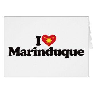 I Love Marinduque Greeting Card