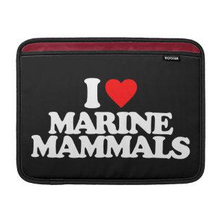 I LOVE MARINE MAMMALS MacBook AIR SLEEVE