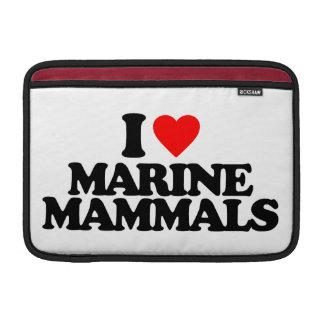 I LOVE MARINE MAMMALS SLEEVES FOR MacBook AIR