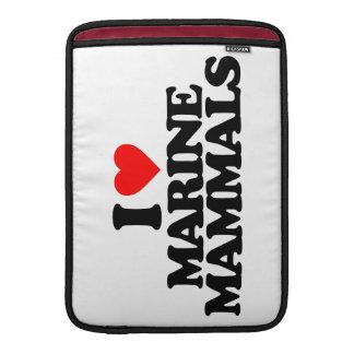 I LOVE MARINE MAMMALS SLEEVE FOR MacBook AIR