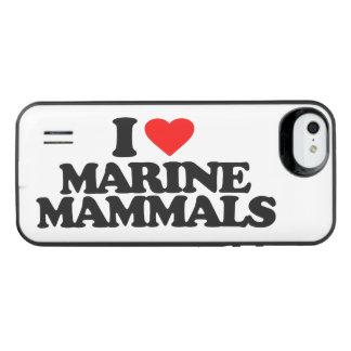 I LOVE MARINE MAMMALS iPhone SE/5/5s BATTERY CASE