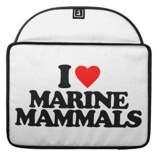 I LOVE MARINE MAMMALS SLEEVE FOR MacBook PRO