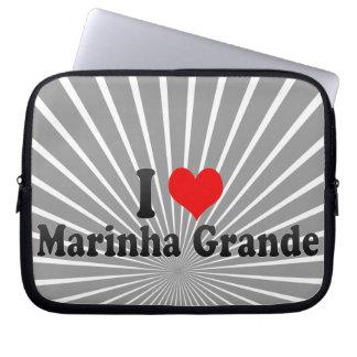 I Love Marinha Grande, Portugal Laptop Computer Sleeves