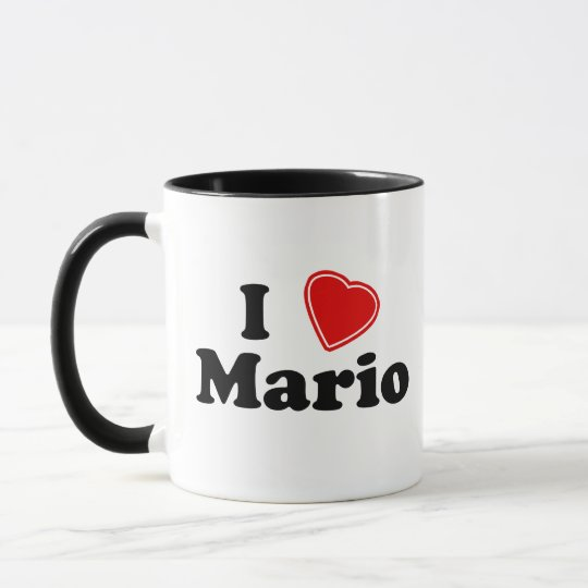 I Love Mario Mug