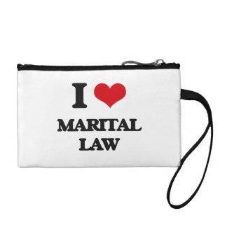 I Love Marital Law Coin Purses
